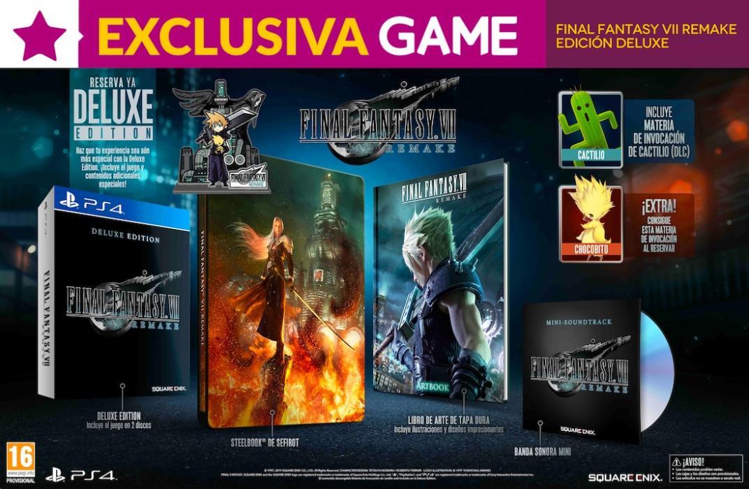 Final Fantasy VII Remake GAME