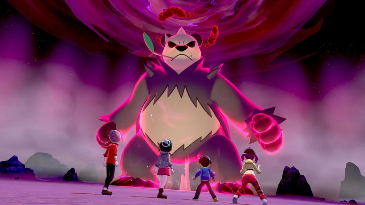 Incursiones Dinamax Pokémon Espada y Escudo