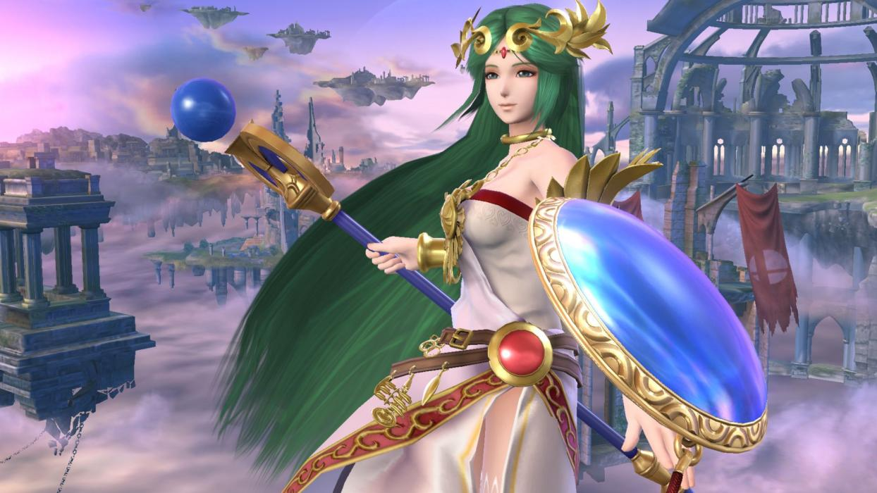 Super Smash Bros. Wii U - Palutena