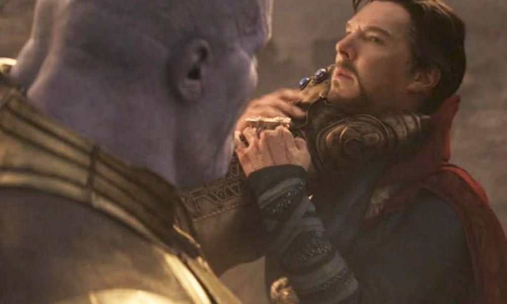 Thanos y Doctor Strange