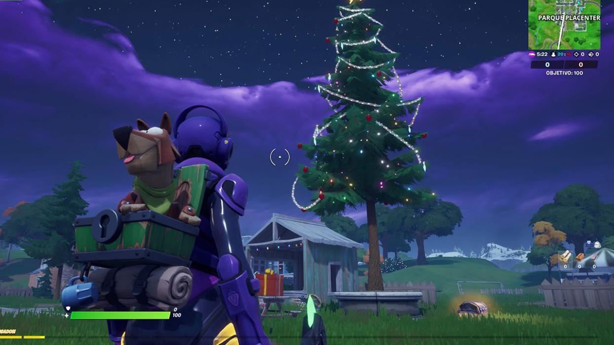 Árboles de Navidad Fortnite Capítulo 2