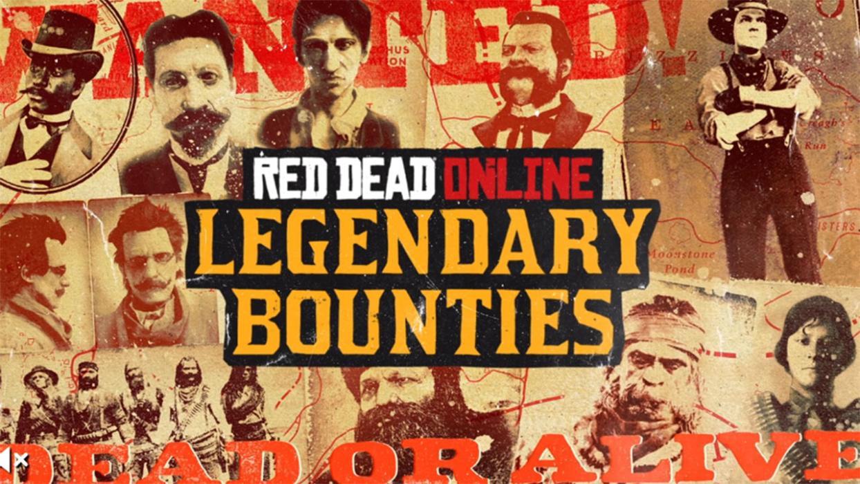 fugitivos legendarios en Red Dead Online