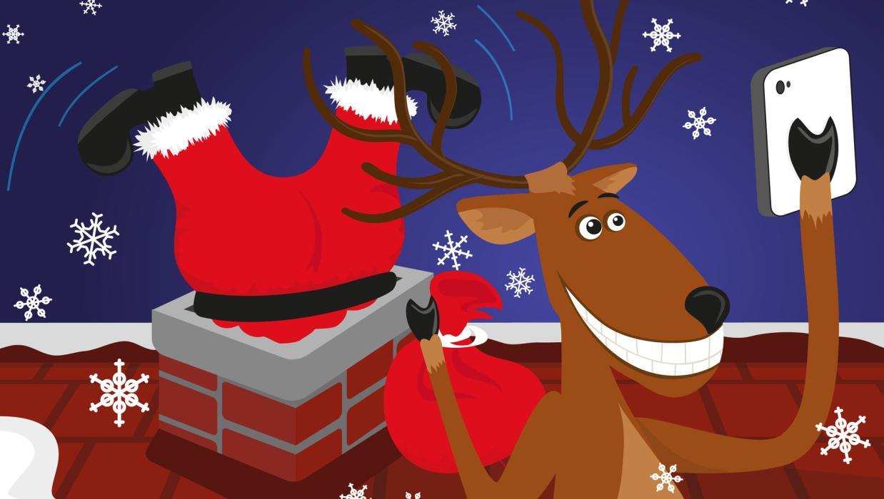 Imágenes Graciosas Y Divertidas Para Felicitar La Navidad