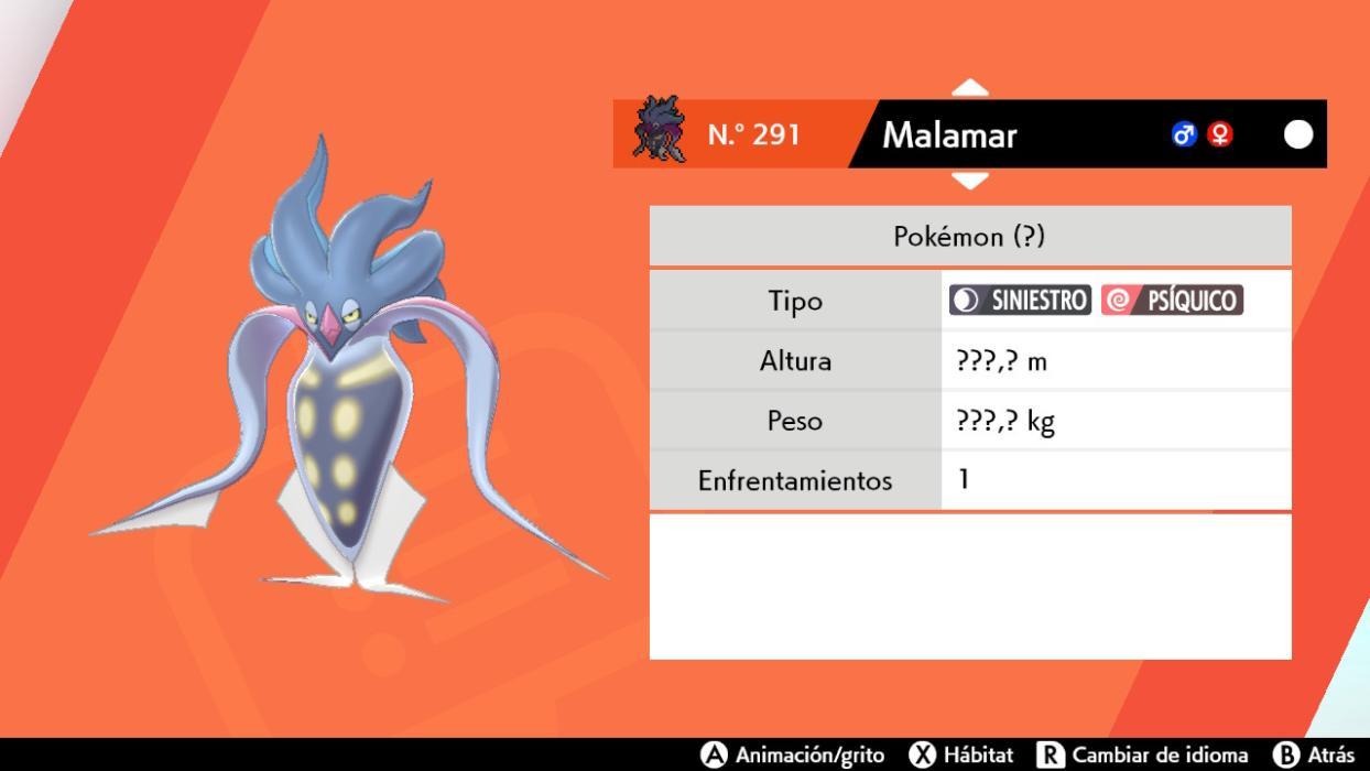 Inkay y Malamar