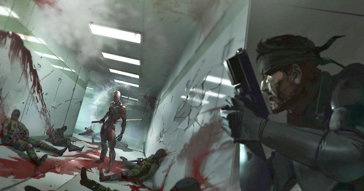 Metal Gear Solid arte conceptual