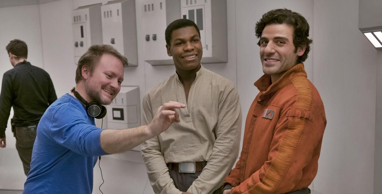 Rian Johnson en Star Wars Los últimos Jedi