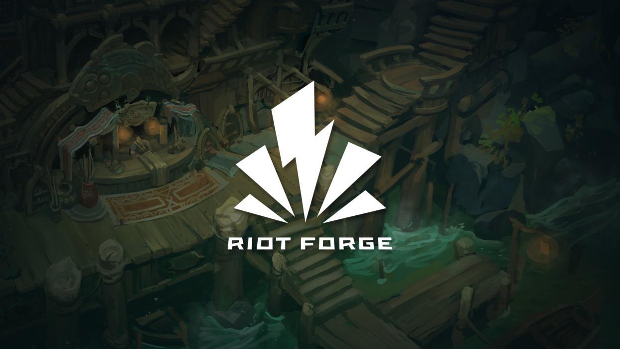 anuncio Riot Forge