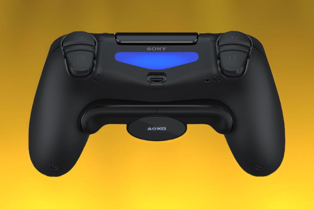 Botones traseros PS4