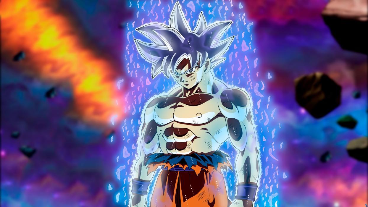 Goku Ultra Instinto Dragon Ball FightetZ