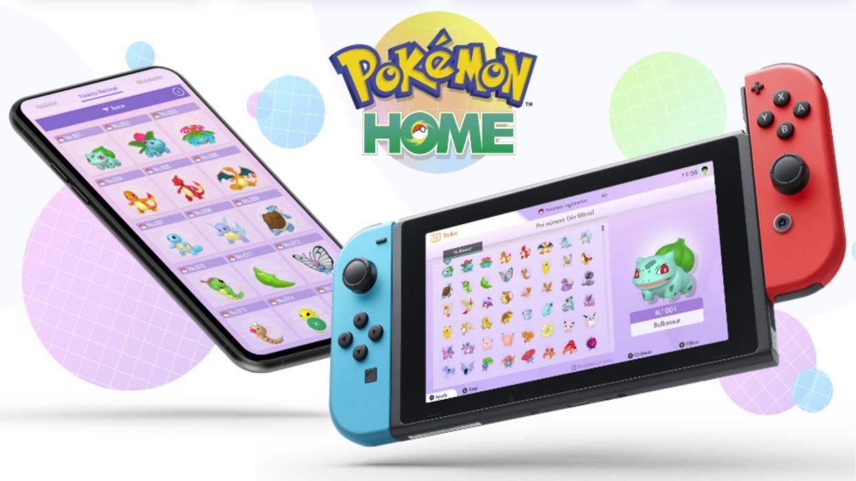 Pokémon HOME app Nintendo Switch