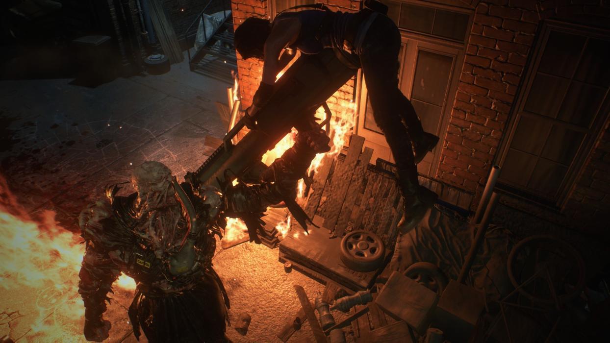 Resident Evil 3 Remake nuevas imágenes