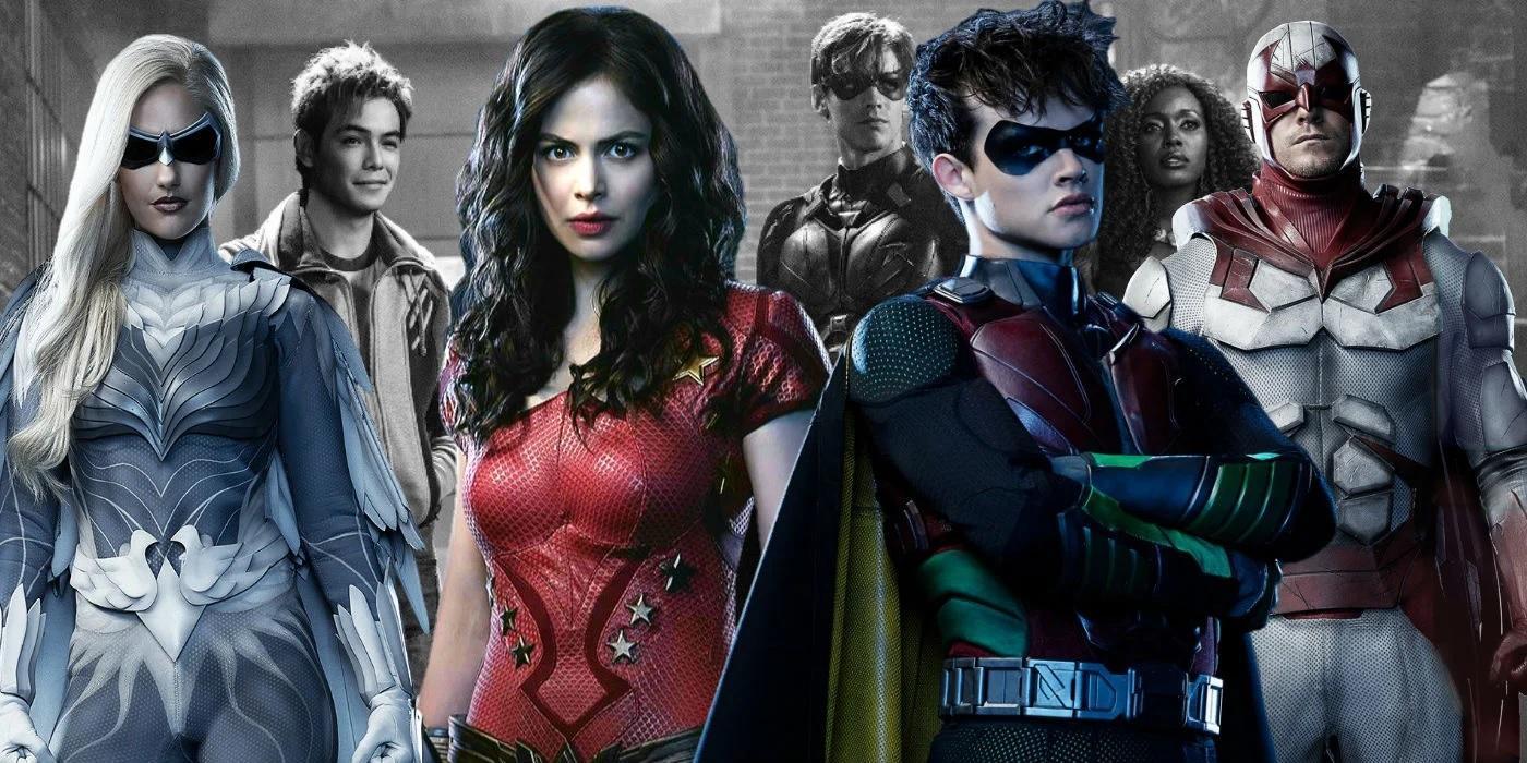 Nuevos personajes en Titans