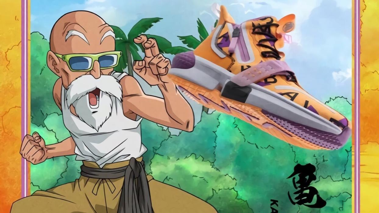 Las zapatillas de Dragon Ball Super