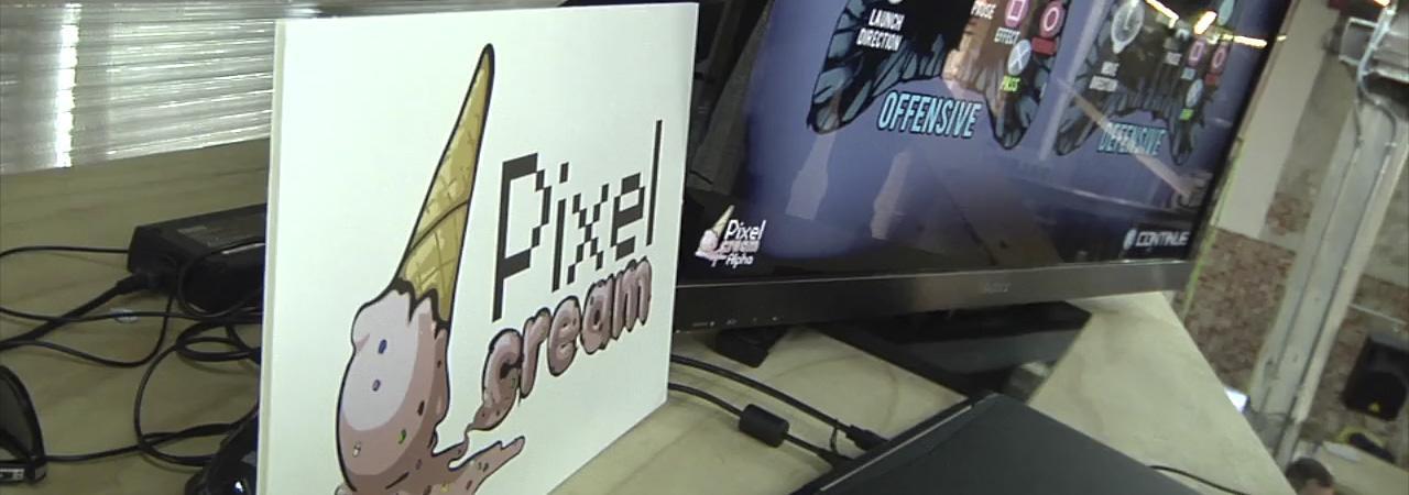 Entrevista en vídeo Pixel Cream