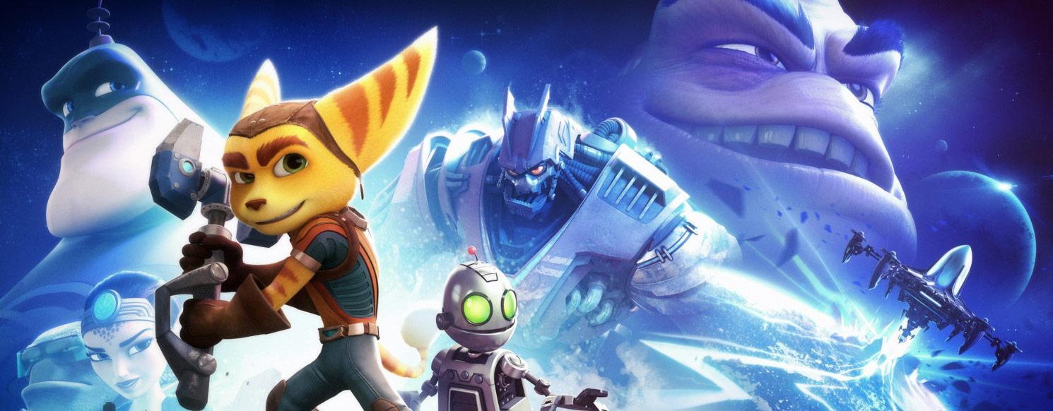 Ratchet & Clank - robótica