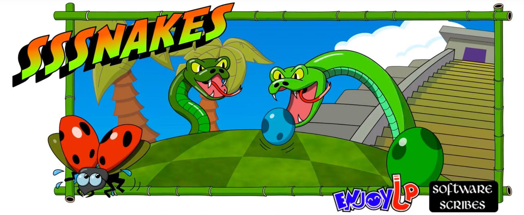 Sssnakes 3DS - logo