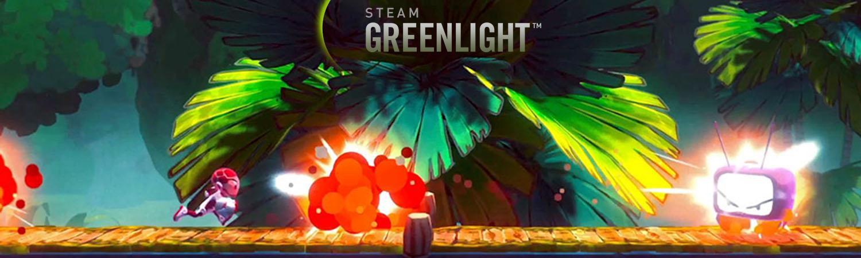 Super Red Hot Hero es greenlight portada