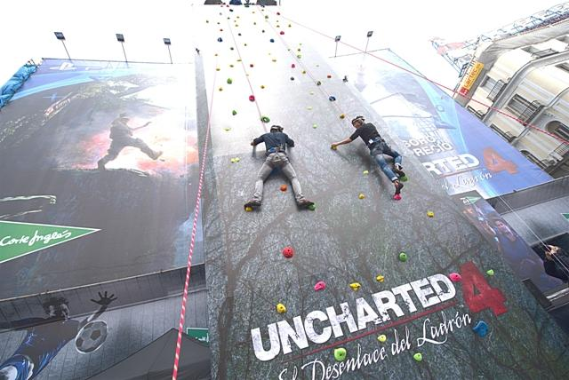 Uncharted 4 en Madrid