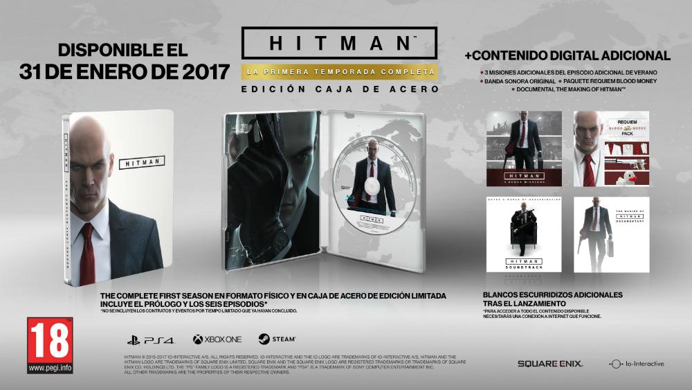 Hitman La Primera Temporada Completa